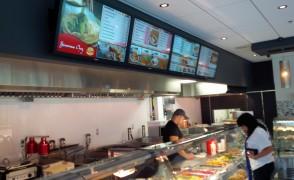 CDL Digital Installe le menu numérique du restaurant AghA à Brossard
