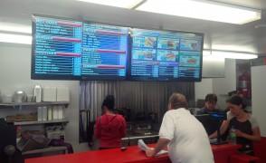 Casse Croute Laplaine Installe les menus numérique CDL Digital